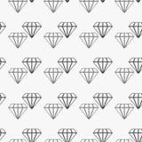 Vektormodell med diamanter Den sömlösa modellen kan användas för tapeten, modellpåfyllningar, webbsidabakgrund, yttersida royaltyfri illustrationer