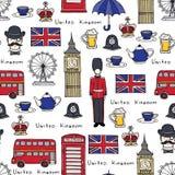 Vektormodell på temat av Förenade kungariket Royaltyfri Fotografi
