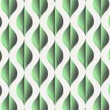 Vektormodell som upprepar lutningeffekt med abstrakta gröna sidor användaren kan flytta en modell till provkartapanelen för att a vektor illustrationer