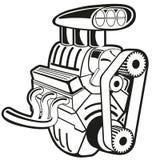 Vektormotor Arkivfoton