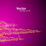 Vektormusik Eq stock illustrationer