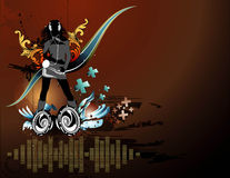 Vektormusikabbildung Lizenzfreies Stockbild