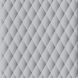 Vektormuster - graue Diamanten Lizenzfreie Stockfotos