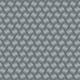 Vektormuster mit geometrischen Wellen Endlose stilvolle Beschaffenheit Kräuselungsmonochromhintergrund lizenzfreie abbildung