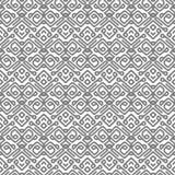 Vektormuster mit grauen glatten Linien stock abbildung