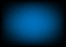 Vektormusterbeschaffenheit geometrisch mit punktierter Raute auf Blau stock abbildung