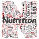 Vektornäringhälsa bantar bokstavsstilsort N vektor illustrationer