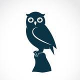 Vektorn avbildar av en owl stock illustrationer