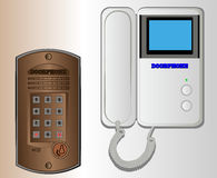 Doorphone Fotografering för Bildbyråer