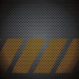 Vektorn belägger med metall raster Royaltyfri Foto