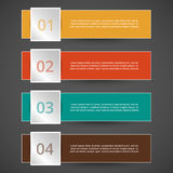 Vektorn fodrar infographic Royaltyfri Bild