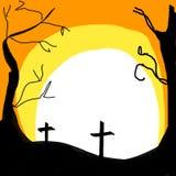 Vektorn helloween bakgrund royaltyfri bild