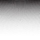Vektorn pricker halvton Svartprickar på vit bakgrund texturro royaltyfri illustrationer