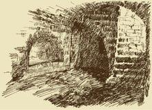 Dungeon Arkivbilder