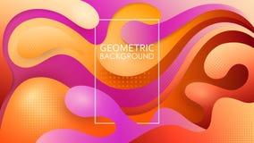 Vektorn utföra i relief lager av klippt papper soft för fält för färgpildjup grund Ljus kulör illustration Kraft stil origami vektor illustrationer