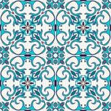 Vektornahtlose Beschaffenheit Schönes farbiges Muster für Design und Mode mit dekorativen Elementen Stockfotografie