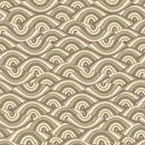 Vektornahtloser abstrakter Hintergrund mit Augen lizenzfreie abbildung