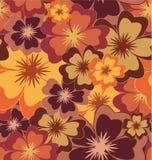 Vektornahtloser Blumenhintergrund Lizenzfreies Stockbild