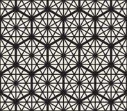 Vektornahtloses abstraktes Muster Moderne stilvolle gestreifte Gitterbeschaffenheit Wiederholen von geometrischen Fliesen mit sec stockfotografie