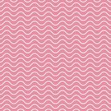 Vektornahtloses abstraktes Muster, Wellen Lizenzfreies Stockfoto