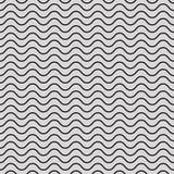 Vektornahtloses abstraktes Muster, Wellen Lizenzfreie Stockfotografie