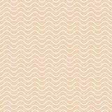 Vektornahtloses abstraktes Muster, Wellen Lizenzfreie Stockfotos