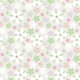 Vektornahtloses Blumen-Muster Stock Abbildung