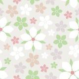 Vektornahtloses Blumen-Muster Lizenzfreie Abbildung