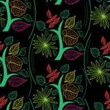 Vektornahtloses Blumenmuster Stockfoto