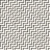 Vektornahtloses geometrisches Muster Hand gezeichneter abstrakter Hintergrund Gekritzellinien Beschaffenheit stockbilder