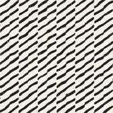 Vektornahtloses geometrisches Muster Hand gezeichneter abstrakter Hintergrund Gekritzellinien Beschaffenheit lizenzfreie stockbilder