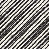 Vektornahtloses geometrisches Muster Hand gezeichneter abstrakter Hintergrund Gekritzellinien Beschaffenheit lizenzfreie stockfotos