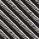 Vektornahtloses geometrisches Muster Hand gezeichneter abstrakter Hintergrund Gekritzellinien Beschaffenheit lizenzfreies stockbild