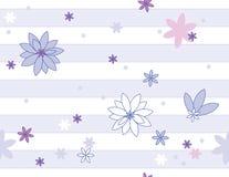 Vektornahtloses mit Blumenmuster Lizenzfreie Stockfotografie