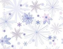 Vektornahtloses mit Blumenmuster Stockbilder