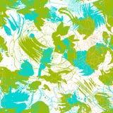 Vektornahtloses Muster mit Blumen Lizenzfreies Stockbild