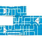 Vektornetzelement für Ihren Entwurf Stockbild