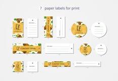 Vektorpapier-Kleidungsaufkleber für Druck mit Musterkiwi und -blume Stockfoto