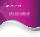 Vektorphantasieauslegung mit Platz für Ihren Text Stockfotos
