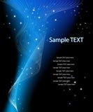 Vektorphantasieauslegung mit Platz für Ihren Text Stockfoto