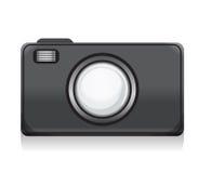 Vektorphotocamerasymbol Royaltyfri Illustrationer