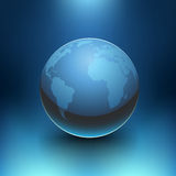 Vektorplaneten-Erde Stockfoto