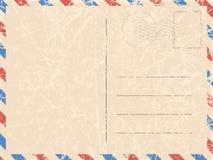 Vektorpostkarte und -Spezialeffekt verkratzt, abgerieben Illustration für Ihre Designe vektor abbildung
