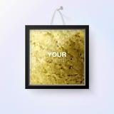 Vektorrahmendesign für Ihr Foto oder Text Lizenzfreies Stockbild