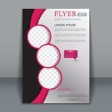 Vektorreklambladmall för design vektor illustrationer