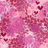 Vektorrosafarbenes Muster für Valentinsgrußtag vektor abbildung