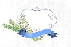 Vektorsamling av etiketter och beståndsdelar för Sukkot (judiskt Trad royaltyfri illustrationer