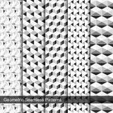 Vektorsammlung nahtlose Muster Stockbild