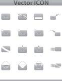 Vektorsammlungsweb-Ikone. Stellen Sie Piktogramm ein Lizenzfreie Stockfotografie