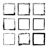 Vektorsatz des Quadrats gestaltet Tinte 1 Lizenzfreie Stockbilder